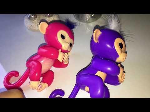 Шок! Fingerlings обезьянка с AliExpress подделка.