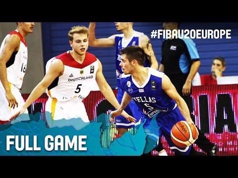 Xxx Mp4 Germany V Greece Full Game FIBA U20 European Championship 2017 3gp Sex