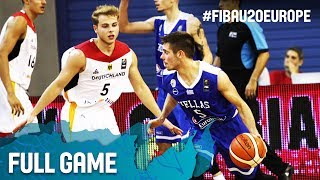 Germany v Greece - Full Game - FIBA U20 European Championship 2017