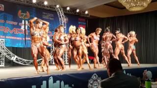 Tampa Pro 2016 Women's Bodybuilding Posedown!