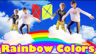 Learn RAINBOW Colors with CUBE | Gertit ToysReview