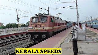 WAP4 Kerala Screams Overtakes Like A Boss Vetapalem