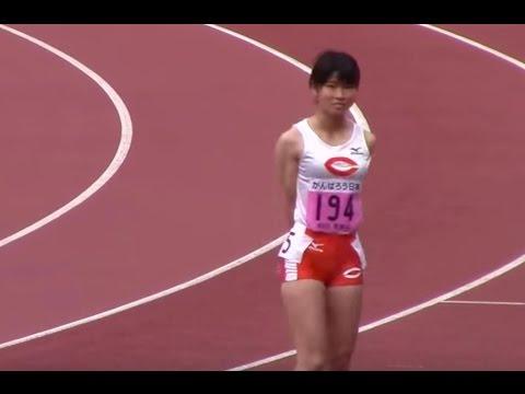 岩田優奈 松本奈菜子/ 2016関東インカレ陸上 女子 400m決勝