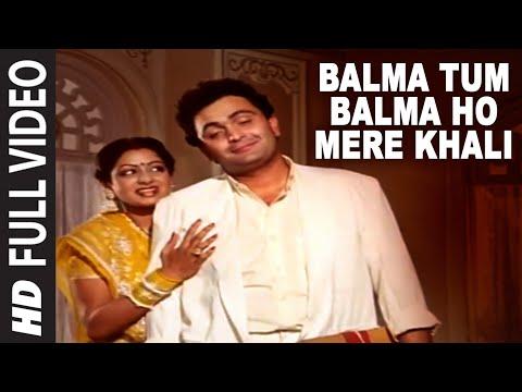 Xxx Mp4 Balma Tum Balma Ho Mere Khali Full VIDEO Song Nagina Rishi Kapoor Sridevi 3gp Sex