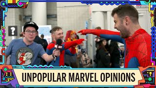 What's Your Unpopular Marvel Opinion? | Marvel LIVE @ NYCC!