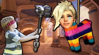 Overwatch Funny & Epic Moments - MERCY PINATA - Highlights Montage 162