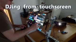 DJing from touchscreen