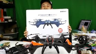Predator U842 Wifi FPV Quadcopter Drone With HD Camera Review- Live Footage from iPhones & Androids!