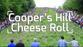 Cooper's Hill Cheese Rolling Madness!