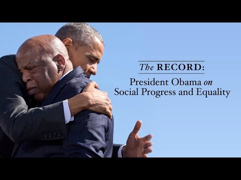The Record President Obama on Social Progress and Equality