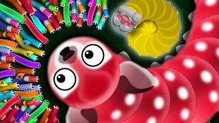 Wormax.io - 1 ANGRY WORM vs. 500 MAGIC WORMS! //  THE NEW SLITHER.IO (Wormax.io Funny Moments)