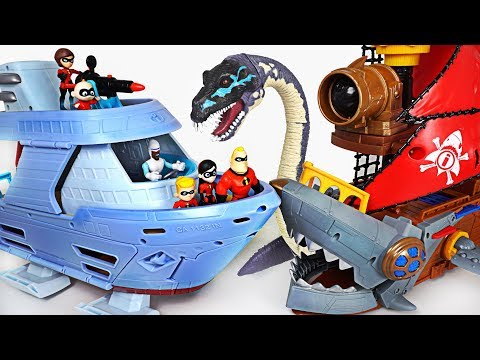 Xxx Mp4 Pirates And Sea Monsters Attack Robocar Poli Go The Incredibles 2 Hydroliner Ship DuDuPopTOY 3gp Sex