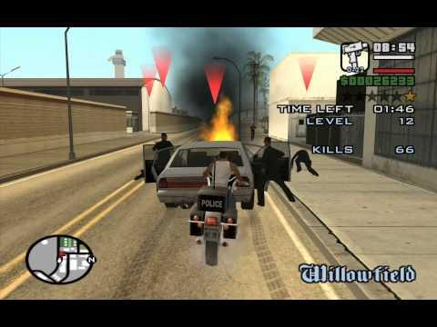 GTA San Andreas Vigilante Mission Part 2 of 2