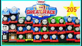 THOMAS AND FRIENDS THE GREAT RACE #205 Trackmaster Journey Beyond Sodor|Thomas & Friends for Kids