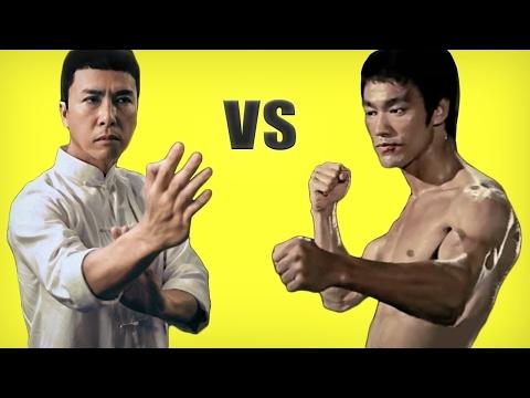 Bruce Lee's Wing Chun vs Ip Man vs Jeet Kune DO