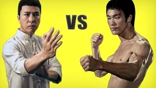 Wing Chun vs Jeet Kune Do - Bruce Lee's Wing Chun vs Ip Man  |HD|
