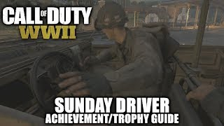 Call of Duty WW2 - Sunday Driver Achievement/Trophy Guide - Mission 4: S.O.E.