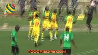 Match amicale des Epervies du Togo contre la Zambie. Togo 1  Zambie 0