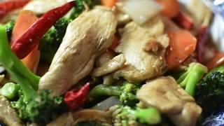 Velveting chicken    Chinese Chicken/Broccoli    চাইনিজ চিকেন