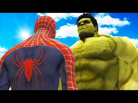 BIG HULK VS SPIDERMAN THE INCREDIBLE HULK VS SPIDER MAN 2002