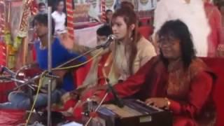 MATA RANI  BHAJAN BY Renu Choudhary at Chandi Maha Yagna by Param Pujya Dharam Das shastri ji