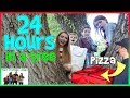 Download Video Download 24 Hours In A Tree!  We ordered PIZZA!! / That YouTub3 Family 3GP MP4 FLV