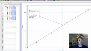 logger pro graphing, max and min lines