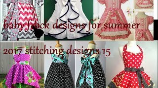 baby frock designs for summer 2017, stitching designs 15