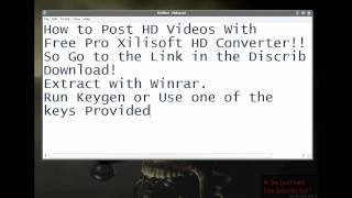 Free HD XiliSoft Video Converter 5.1.2+Download link.All Formats Supported!!