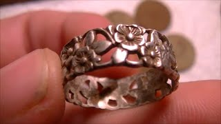 1926 MANSION HUNT! ORNATE SILVER FOR EVERYONE! - Metal Detecting January 18th 2015