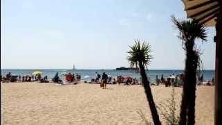 Capao beach Plage Richelieu cap d agde mer sable bains de mer soleil