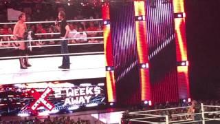 WWE Monday RAW Dean Ambrose vs Chris Jericho Omaha NE May 2016