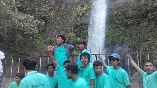 মাধবকুন্ড জলপ্রপাত-Beautiful Bangladesh--Study Tour-JMS-Madhobkundo waterfall
