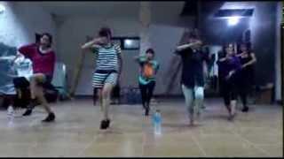 [Dance Practice] Xena Aurora - River & Uza (AKB48)