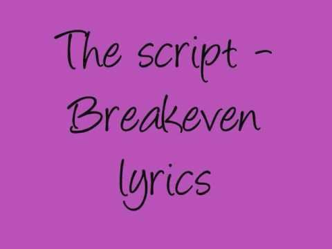 The Script -Breakeven lyrics