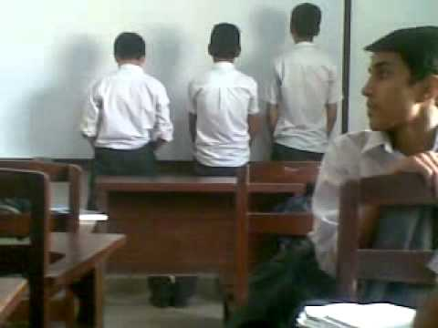 Aps faisal students doing hand practice in class