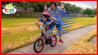 Ryan learned to Ride a Bike with No Training Wheels!!!