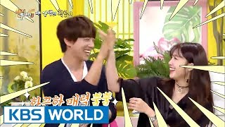 "Jeong Eunji & Hwang Chiyeul, ""This is our aegyo-filled dialect!"" [Happy Together / 2017.06.29]"