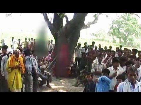 Teenage girls gang-raped and hanged in India