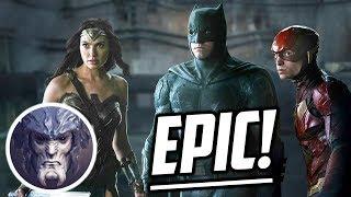 The Flash, Batman y Wonder Woman SE LUCEN en la Nueva Imagen de Justice League!
