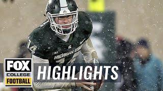 Michigan State vs Maryland | Highlights | FOX COLLEGE FOOTBALL