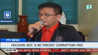 Faeldon: BOC is 80% corruption-free
