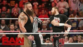 Sami Zayn vs. Braun Strowman: Raw, Oct. 24, 2016