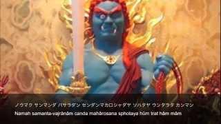 Acala Vidyaraja Mantra 不動明王の真言
