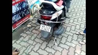 Bike / Scooter Pollution Test Process | Vehicle Emission Testing Procedure | 2-Wheeler PUC Test