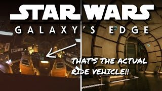 It's the ACTUAL Millennium Falcon Ride Vehicle! + Rumors confirmed at Galaxys Edge Panel