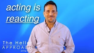 Free Acting Lessons: Acting is the ability to React