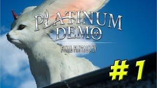 Final Fantasy XV: Platinum Demo! Part 1 - YoVideogames