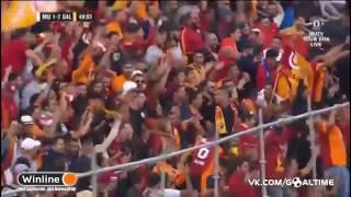 Gol Spektakuler Ibrahimovic saat MU Bantai Galatasaray 5-2 di ICC 2016 (31/7/2016)