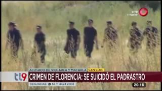 Crimen de Florencia: Se suicidó el padrastro